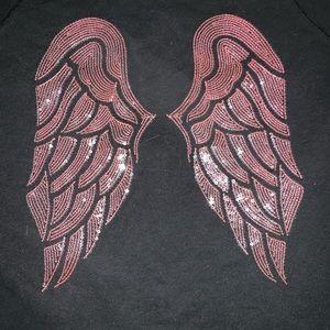 Victoria Secret angel hoodie sweatshirt size large